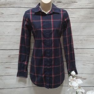 Brooks Brothers plaid button down long sleeve